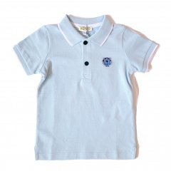 KENZO POLO BB PER 1 LIGHT BLUE ケンゾー ポロシャツ(ライトブルー)