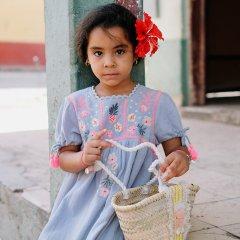 【SALE30%OFF】Louise  Misha Dress Coconut Silver Cloud ルイーズミーシャ タッセルリボン半袖ワンピース(シルバークラウド)