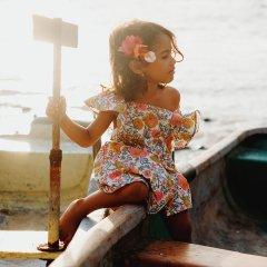 【SALE20%OFF】Louise  Misha Dress Varadero Multi ルイーズミーシャ Flowers エプロンワンピース(マルチフラワー)