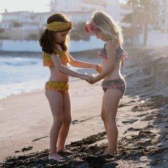 【SALE20%OFF】Louise  Misha Bikini Caribbean Safran Flowers ルイーズミーシャ  ビキニ(サフランフラワー)