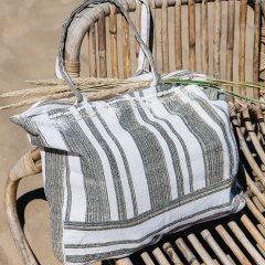 【SALE30%OFF】Louise  Misha Bag Domingue Cream Stripes ルイーズミーシャ トートバッグ(ストライプ)