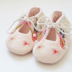 【SALE20%OFF】Louise  Misha Slippers Cocolaia Blush ルイーズミーシャ ブーティ(ピンク)