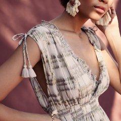 【SALE30%OFF】Louise  Misha Earings Makawe Cream ルイーズミーシャ フリンジピアス(クリーム)