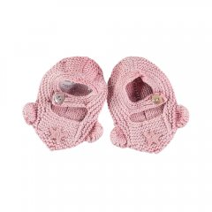 tocoto vintage Crochet mouse booties PINK トコトヴィンテージ マウスブーティ(ピンク)