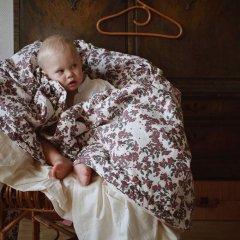 Garbo&Friends Cherrie Blossom Filled Blanket ガルボアンドフレンズ 中綿入りブランケット(チェリーブロッサム )