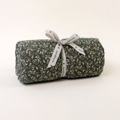 Garbo&Friends Floral Moss Filled Blanket ガルボアンドフレンズ 中綿入りブランケット(モス)
