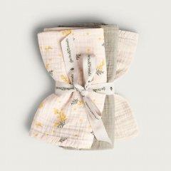 Garbo&Friends Mimosa Burp  Cloths ガルボアンドフレンズ ガーゼクロス3枚セット(ミモザ)