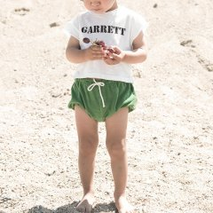Piupiuchick BB.06A Baby shorts Green . terry cotton ピゥピゥチック テリーコットンブルマ(グリーン)