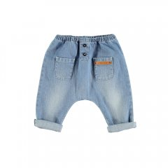 【SALE30%OFF】Piupiuchick BB.07 Baby trousers Washed jeans ピゥピゥチック ウォッシュドジーンズ