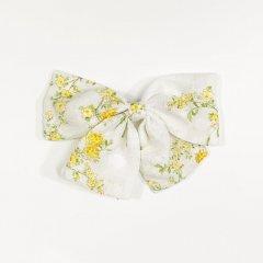 la petite blossom GIRL BOW PRAIRIE ラ プティ ブロッサム 花柄ヘアピン(イエロー/L)
