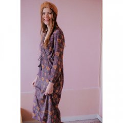 【SALE30%OFF】Louise Misha Dress Babouchka Fig Flowers ルイーズミーシャ 長袖ワンピース(フィグフラワー)