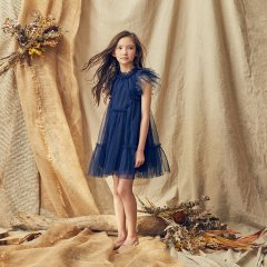 LOVE by Nellystella Baby Antoinette Dress Navy ラブバイネリーステラ アントワネットドレス(ネイビー)