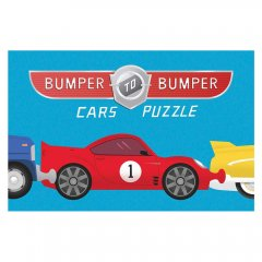 CHRONICLE BOOKS Bumper-to-Bumper Cars Puzzle カーズ パズル