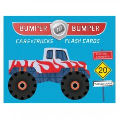 CHRONICLE BOOKS Bumper-to-Bumper Cars & Trucks Flash Cards カーズ フラッシュカード