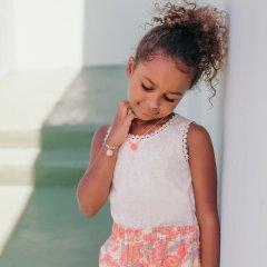 Louise Misha Baby Marcel Tibana Cream ルイーズミーシャ 刺繍タンクトップ(フレンチバニラ)