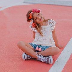 Louise Misha Top Lilia Blush ルイーズミーシャ レースフリルキャミソール(ライトピンク)