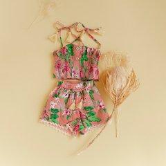 【SALE30%OFF】Louise Misha Baby Top Miami Sienna Flamingo ルイーズミーシャ ベアトップキャミソール(フラミンゴ)