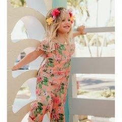 Louise Misha Baby Overalls Talia Sienna Flamingo ルイーズミーシャ オーバーオール(フラミンゴ)