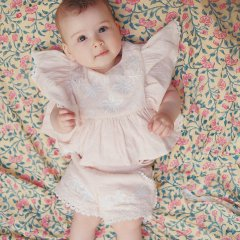 Louise Misha Baby Shorts Maracas Blush ルイーズミーシャ ショートパンツ(ライトピンク)