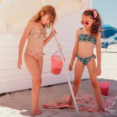 Louise Misha Baby Bikini Zacata Emerald Flowers ルイーズミーシャ ビキニ(エメラルドフラワー)