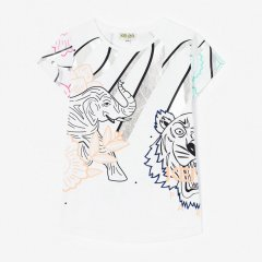 【SALE20%OFF】KENZO JANICE 01. OPTIC WHITE 半袖Tシャツ(ホワイト)