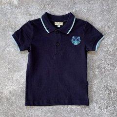 【SALE20%OFF】KENZO POLO JB B2 04P. NAVY 半袖ポロシャツ(ネイビー)