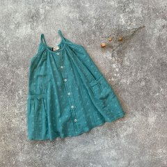【SPECIAL15%OFF】1 + in the family FLORIANA dress mint ワンモア イン ザ ファミリー キャミフレアワンピース(ミント)