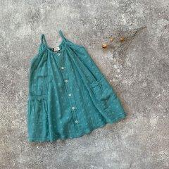 1 + in the family FLORIANA dress mint ワンモア イン ザ ファミリー キャミフレアワンピース(ミント)