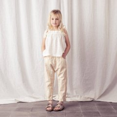 【SALE20%OFF】tocoto Sleeveless swiss embroidered blouse OFF-WHITE トコト ヴィンテージ アイレットレースブラウス(オフホワイト)