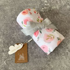 Angel Dear SWADDLE PRETTY IN PINK FLORAL エンジェル ディア スワドル(ピンクフローラル)