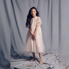 LOVE by Nellystella baby Isabella Dress Orchid Ice ラブバイネリーステラ イザベラドレス(オーキッドアイス)