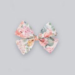 la petite blossom Primrose Bow ラ プティ ブロッサム 花柄リボンヘアクリップ(マルチ)