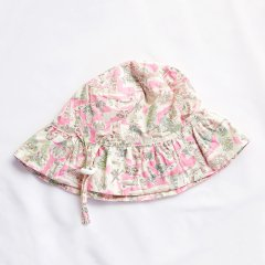 【SPECIAL OFF】minihaha LIBERTY SUN HAT ISLE OF WR ミニハハ リバティサンハット(ピンク)
