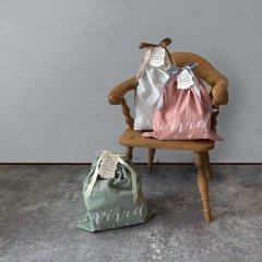 DRAWSTRING COTTON BAG ラッピング用巾着袋