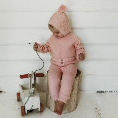 Louise Misha Leggings Athedor Bubble Gum ルイーズミーシャ ウエストボタン付レギンス(バブルガム)