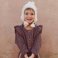 Louise Misha Baby Beanie Lauria Cream ルイーズミーシャ ビーニーキャップ(クリーム)