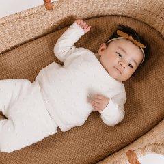 Quincy Mae Bailey Knit Sweater ivory クインシー メイ コンベックスニットセーター(アイボリー)
