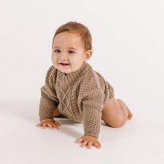 Quincy Mae Cable Knit Sweater olive クインシー メイ ケーブルニットセーター(オリーブ)