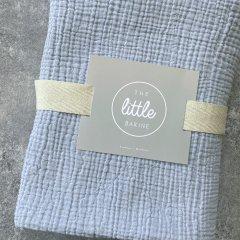the little BARiNE Cotton Baby Blancket ザ リトル バリーネ コットンベビーブランケット(ブルー)