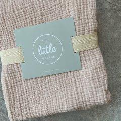 the little BARiNE Cotton Baby Blancket ザ リトル バリーネ コットンベビーブランケット(ピンク)