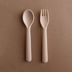 cink Bamboo Cutlery Set Rye サンク バンブースプーン&フォークセット(ライ)