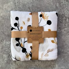 LUNA'S TREASURES GOLDEN GUM muslin cot blanket ルナズ トレジャーズ モスリンコットブランケット(ゴールデンガム)