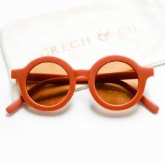 Grech & Co.  Sustainable Children's Eyewear rust グレッチアンドコー サスティナブル チルドレンズ アイウェア(ラスト)