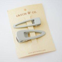 Grech & Co.  Matte Clips Set of 2 buff グレッチアンドコー ヘアクリップ2点セット(バフ)