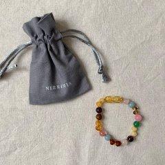 Nirrimis Kids Bracelet Rainbow ニリミス キッズアンバーブレスレット(レインボー)