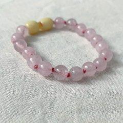 Nirrimis Kids Bracelet Rose Quartz ニリミス キッズジェムストーンブレスレット(ローズクォーツ)