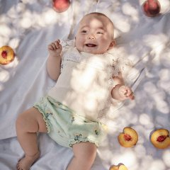 Louise Misha Bloomers Almarico Almond Dandelion Flowers ルイーズミーシャ ウエストリボン花柄ブルマ(アルモンド)