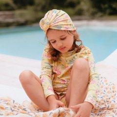 Louise Misha UV Protective Set Toluca Soft Honey Parrots ルイーズミーシャ 花柄ラッシュガードセット(ソフトハニーパロット)