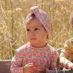 Louise Misha Baby Bathing Turban Sylvania Pink Meadow ルイーズミーシャ ターバンキャップ(ピンクメドゥ)
