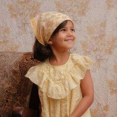 Louise Misha Small Scarf Rebha Blush Flowers ルイーズミーシャ スカーフ Sサイズ(ブラッシュフラワー)